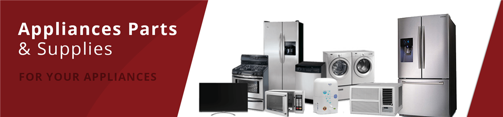 Appliance parts and supplies