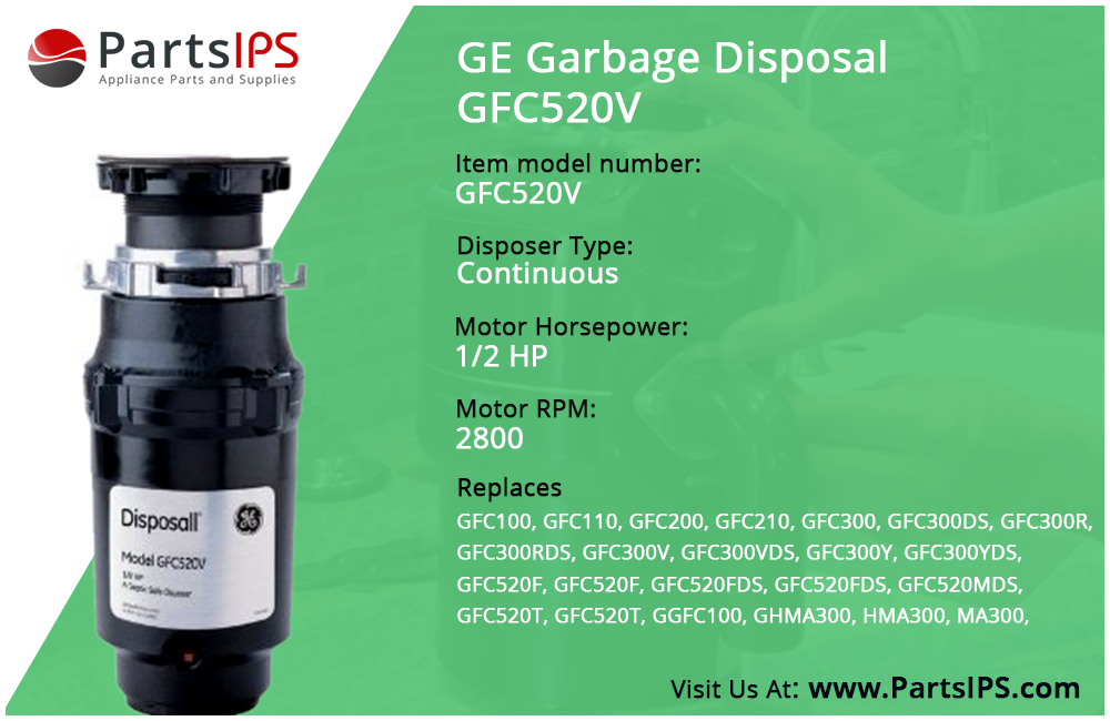 GE Garbage Disposal GFC520V