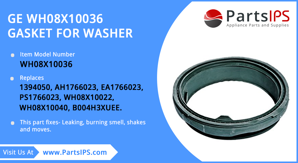 GE WH08X10036 Gasket For Washer