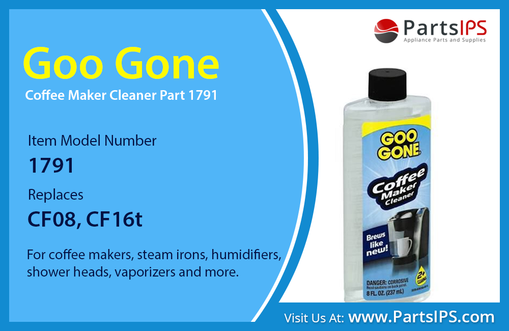 Goo Gone Coffee Maker Cleaner Part 1791