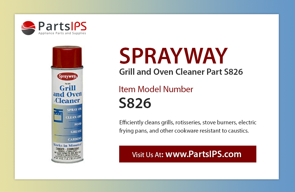 Sprayway Grill and Oven Cleaner Part S826