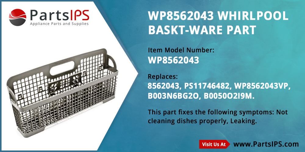 WP8562043 Whirlpool Baskt Ware Part