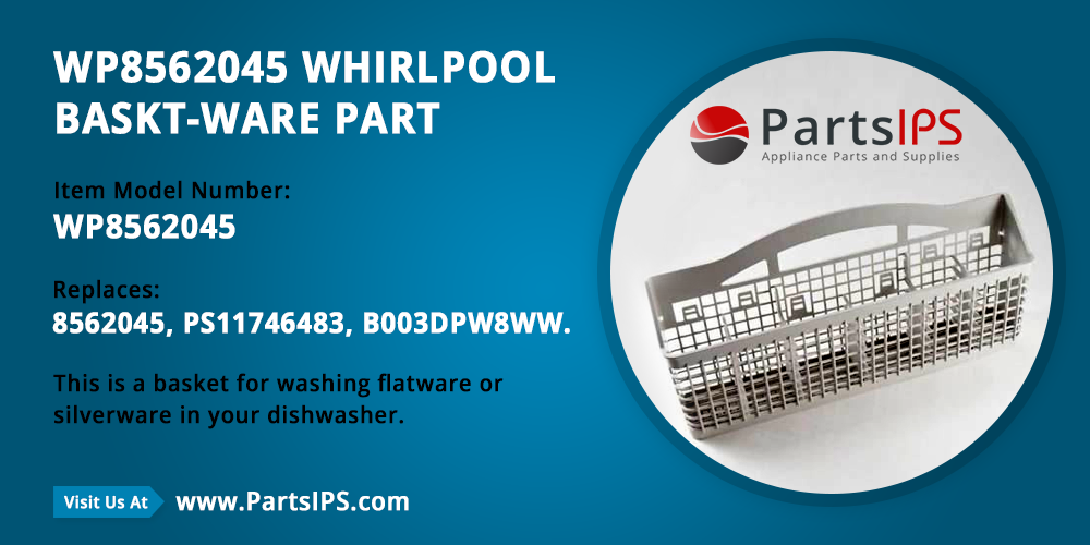 WP8562045 Whirlpool Baskt Ware Part