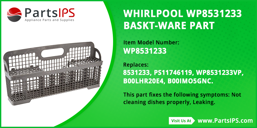 Whirlpool WP8531233 Baskt Ware Part