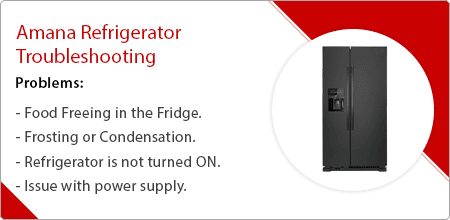 amana refrigerator troubleshooting guide