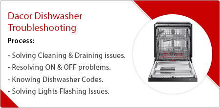 dacor dishwasher troubleshooting guide