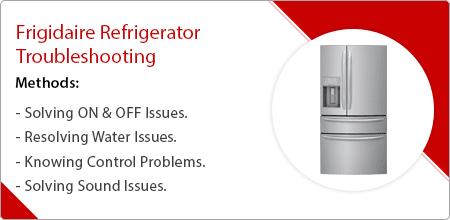 frigidaire refrigerator troubleshooting guide
