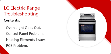 lg electric range troubleshooting guide