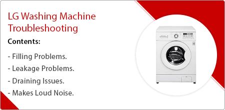lg washing  machine troubleshooting guide