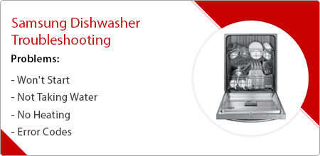 samsung dishwasher troubleshooting guide