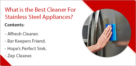 what is the cleaner for stainless steel appliances