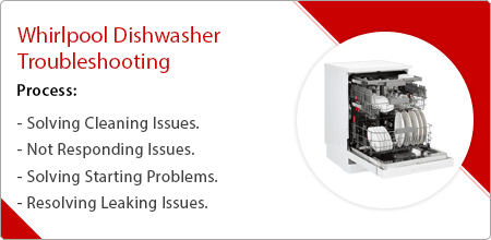 whirlpool dishwasher troubleshooting guide