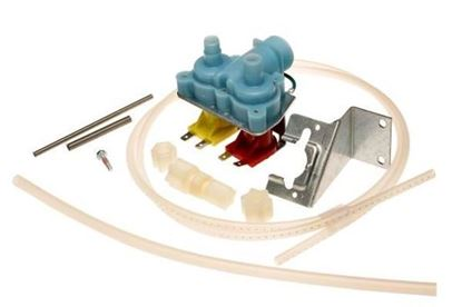 Picture of Whirlpool Jenn-Air KitchenAid Maytag Roper Admiral Sears Kenmore Norge Magic Chef Amana Refrigerator Water Inlet Fill Valve Kit - Part# R0175017
