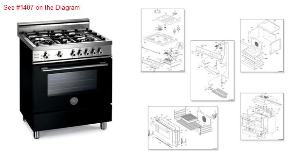 Bertazzoni Range Stove Oven Door Glass We Are A Re Seller