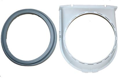 Picture of Bosch - Thermador - Gaggenau Clothes Washer Washing Machine Door Boot Seal Gasket Kit - Part# 246270