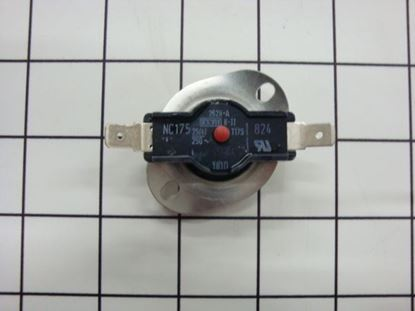 Picture of Bosch Thermador Gaggenau Siemens Clothes Dryer Manual Reset High Limit Thermostat TEMPERATURE LIMITER - Part# 422272