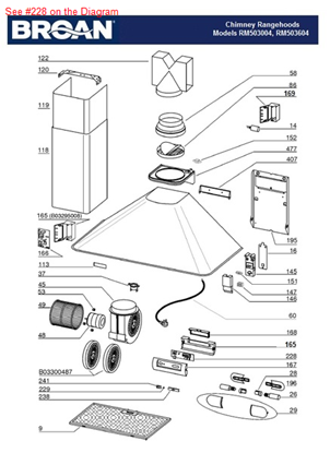 Picture of CONTROLS BOARD - Part# B08086280