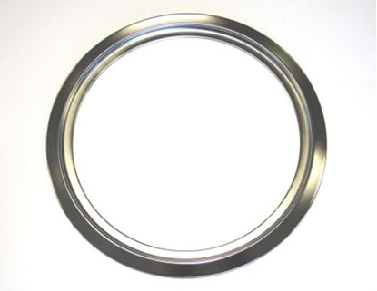 "Picture of GE General Electric Hotpoint Sears Kenmore Range Stove Cook Top 8"" TRIM RING CHROME - Part# WB31X5014"