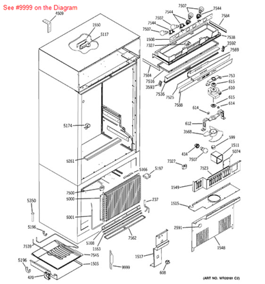 Picture of ACCUMULATOR KIT - Part# WR49X10143