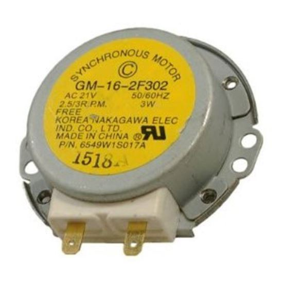 Lg electronics sears kenmore microwave synchromous for Frigidaire microwave turntable motor