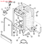 Picture of ARM, SPRAY (UPR) - Part# 99001586