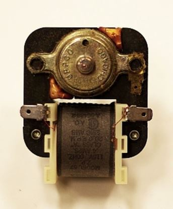 Picture of Whirlpool Jenn-Air KitchenAid Maytag Roper Admiral Sears Kenmore Norge Magic Chef Amana Refrigerator Evaporator Fan Motor - Part# 56488-2