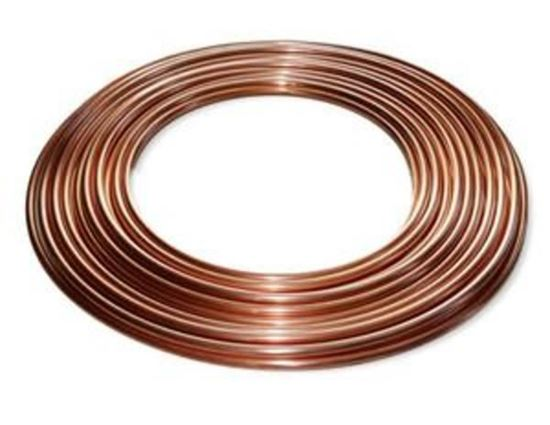 """Picture of 1/4"""" X 50' COPPER TUBING - Part# 80169"""