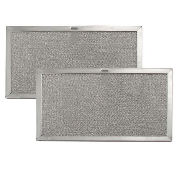 broan nutone range vent hood aluminum grease filter kit 97007893 2 pack size 6 5 8 in. Black Bedroom Furniture Sets. Home Design Ideas