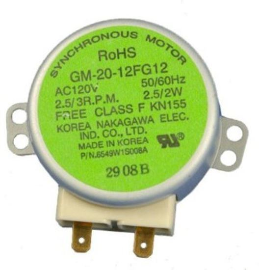 Lg electronics sears kenmore microwave synchronous for Frigidaire microwave turntable motor