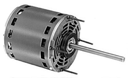 Picture of FASCO A/C Air Conditioner Blower MOTOR 3 Speed 5 5/8 Inch Diameter Motor 115 Volts 1075 RPM 1/3 -1/4 - 1/5 HP - Part# D727