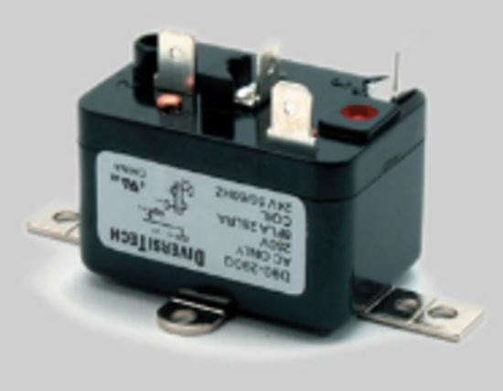 Picture of Carrier Bryant Payne A/C Air Conditioner Furnace General Purpose Relay , 24V 16/8 AMP, SPST-NO - Part# D90-290Q