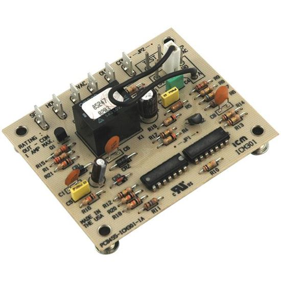 Picture of Rheem and Goettl Heat Pump A/C Air Conditioner Defrost Electronic Control Board - Part# ICM301