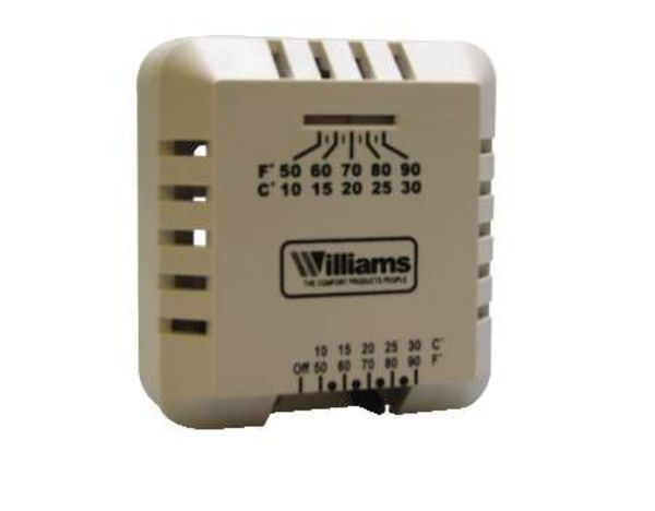 williams furnace milivolt thermostat p322016for use with these rh partsips com Gas Furnace Wiring Diagram 2Wire Wall Furnace Gas Valve Wiring Diagram