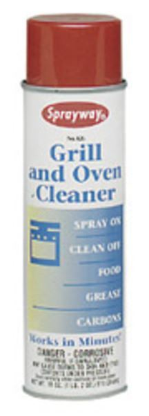 Sprayway Grill And Oven Cleaner S826 18 Oz Partsips