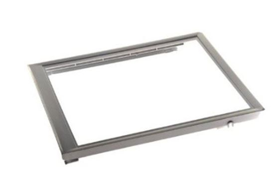 Picture of Frigidaire Electrolux Westinghouse Kelvinator Gibson Sears Kenmore Refrigerator Crisper Pan Cover Frame - Part# 240350702