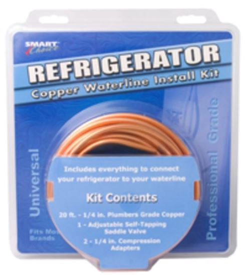 "Picture of 20 ft. 1/4"" Ice Maker Copper Waterline Installation Kit - Part# 5304490717"