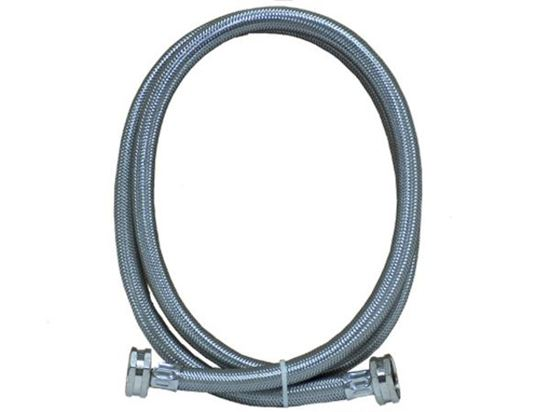 "Picture of 6' Stainless Steel 3/8"" WASHER FILL HOSE By Frigidaire Electrolux - Part# 5308816562"