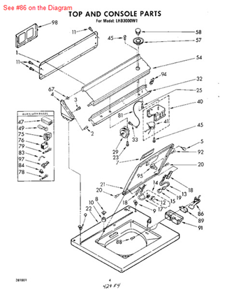 Picture of ACTUATOR - Part# 370959