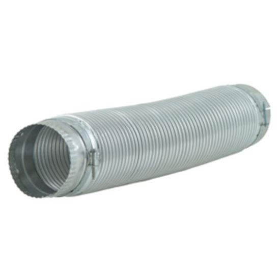 Picture of 6 Ft. Dryer Secure Connect Metal Vent Ducting by Whirlpool Maytag - Part# 4396010RP