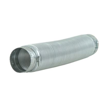 """Picture of 8 Foot 4"""" Dia. Clothes Dryer Heavy Duty Rigid Metal Flexible Ducting By Whirlpool Maytag - Part# 4396727RP"""
