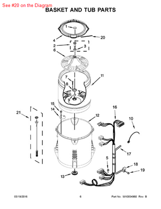 Picture of ABSORBER - Part# W10205824