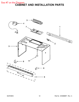 Picture of ADAPTER - Part# W10210832