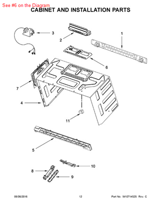 Picture of ADAPTER - Part# W10625423