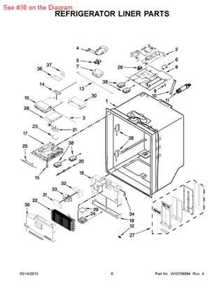 Picture of ADAPTER - Part# W10635024