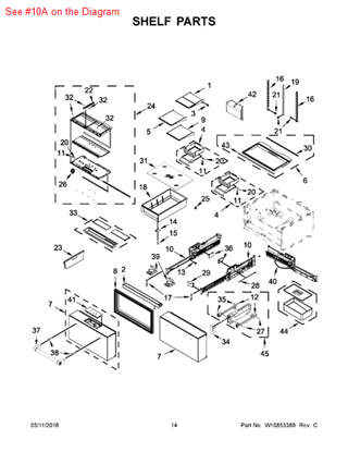 Picture of ADAPTER - Part# W10718059