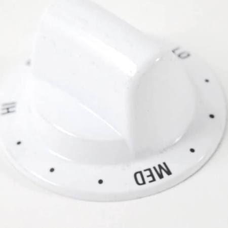 Knob Warming Drawer White Part Wb03k10091 Appliance
