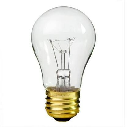 Picture of 40W ALUM CLEAR BULB - Part# 40A15/CL-130