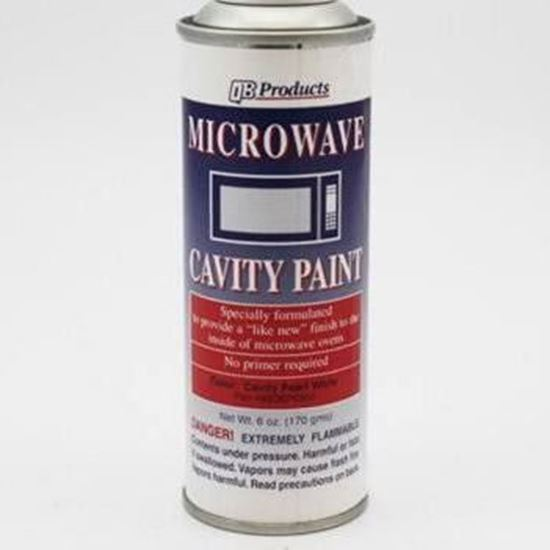 Microwave Oven Cavity Touch Up Paint Pearl White Part