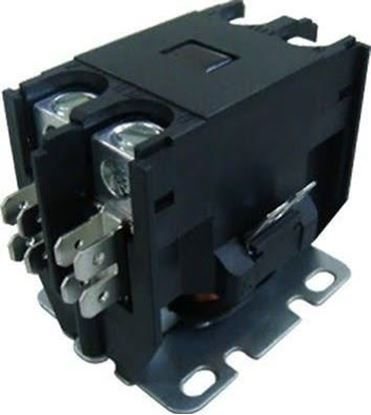 Picture of 1 POLE 25A 120V CONTACTOR - Part# TMX125B