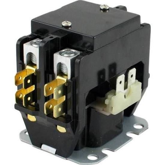 Picture of 1 POLE 25A 240V CONTACTOR - Part# TMX125C